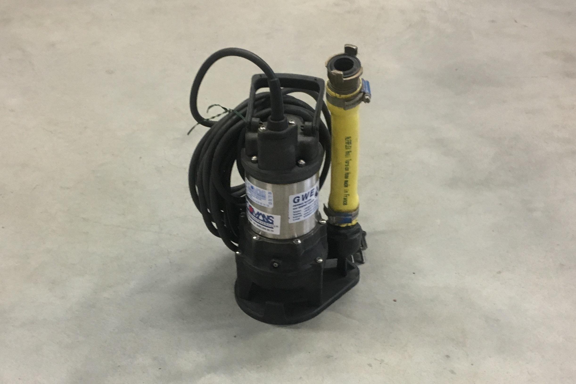 Dompelpomp vuilwater 130 l/min