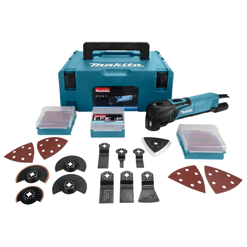 Makita 230 V Multitool TM3010CX2J