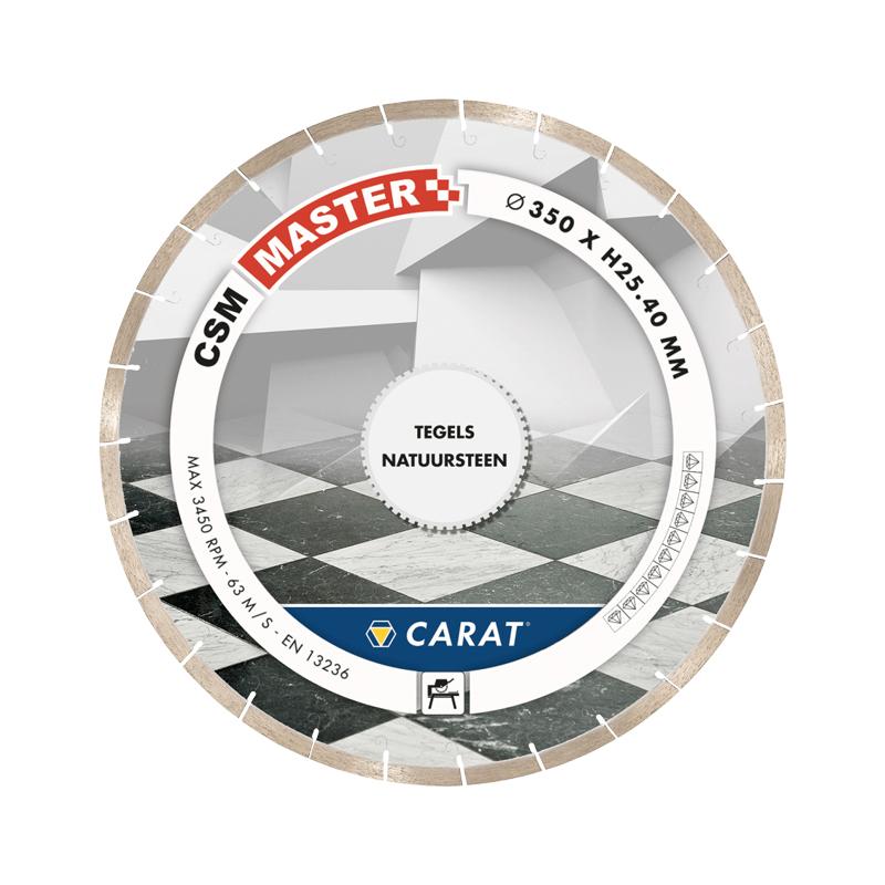 Carat Diamantzaag tegels CSM master