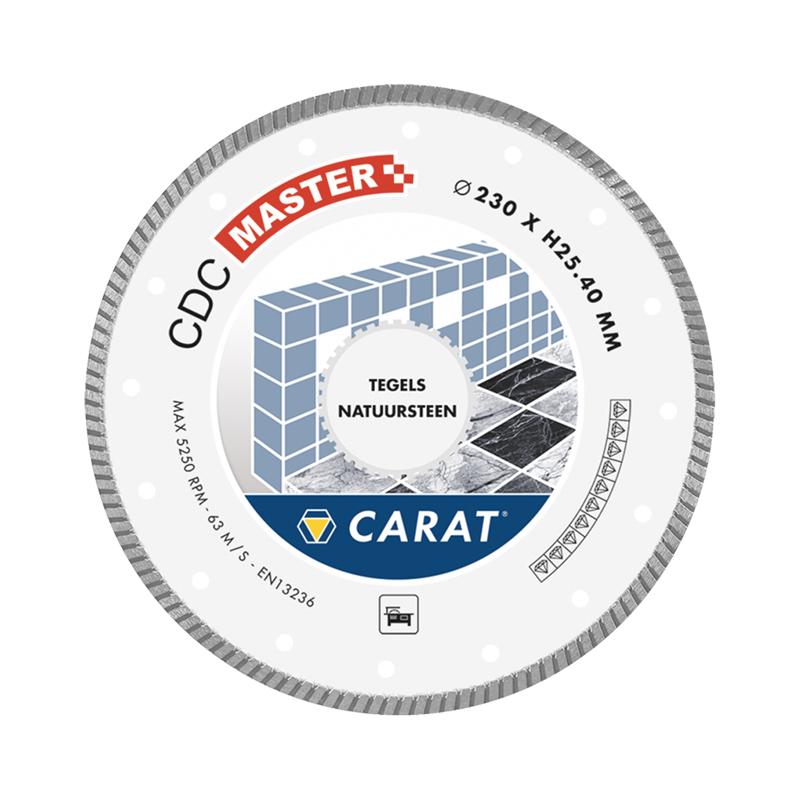 Carat Diamantzaag tegels CDC master